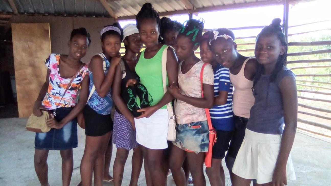 Grace Community Birth Center. Ninotte Lubin. Haiti. Sexual Education Haiti. Nadia Daniels-Moehle.